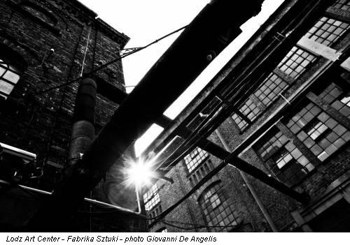 Lodz Art Center - Fabrika Sztuki - photo Giovanni De Angelis