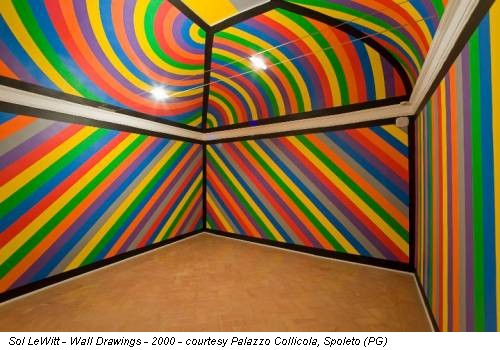 Sol LeWitt - Wall Drawings - 2000 - courtesy Palazzo Collicola, Spoleto (PG)