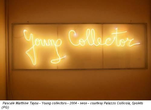 Pascale Marthine Tayou - Young collectors - 2004 - neon - courtesy Palazzo Collicola, Spoleto (PG)
