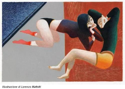 Illustrazione di Lorenzo Mattotti