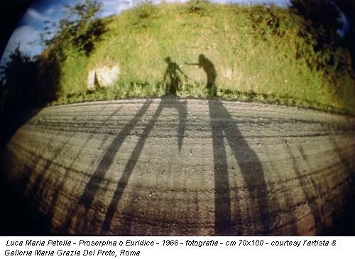 Luca Maria Patella - Proserpina o Euridice - 1966 - fotografia - cm 70x100 - courtesy l'artista & Galleria Maria Grazia Del Prete, Roma