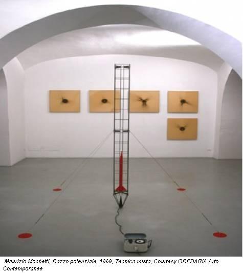 Maurizio Mochetti, Razzo potenziale, 1969, Tecnica mista, Courtesy OREDARIA Arto Contemporanee