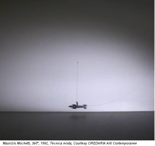 Maurizio Mochetti, 360°, 1992, Tecnica mista, Courtesy OREDARIA Arti Contemporanee