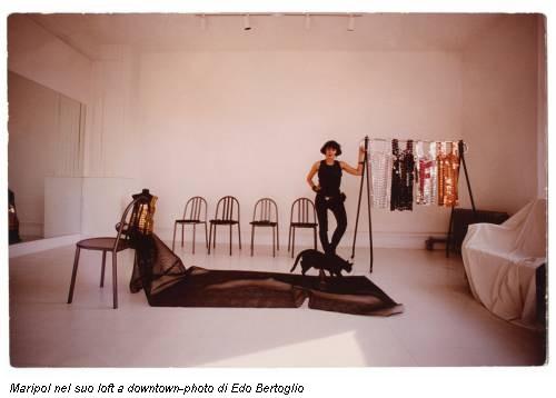 Maripol nel suo loft a downtown-photo di Edo Bertoglio