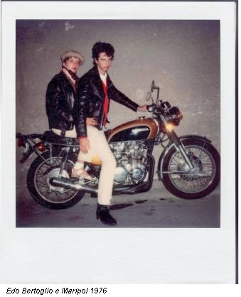 Edo Bertoglio e Maripol 1976