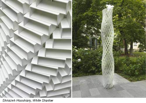 Shirazeh Houshiary, White Shadow