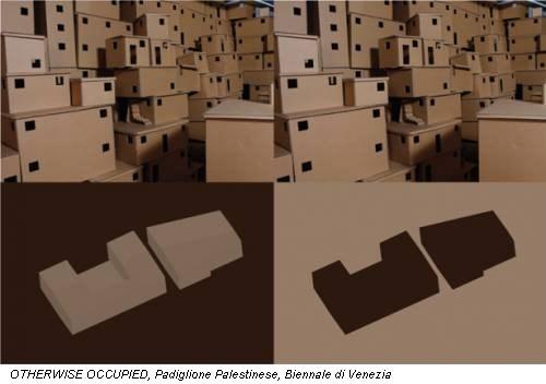 OTHERWISE OCCUPIED, Padiglione Palestinese, Biennale di Venezia
