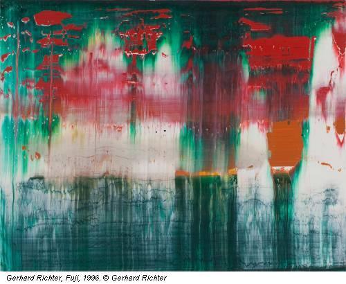 Gerhard Richter, Fuji, 1996. © Gerhard Richter