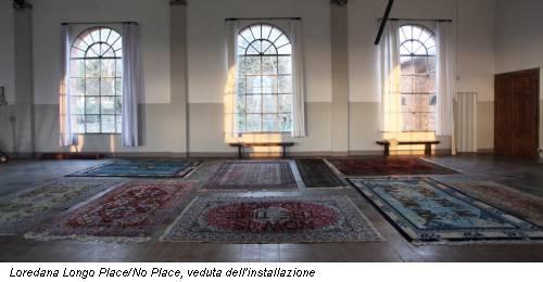 Loredana Longo Place/No Place, veduta dell'installazione