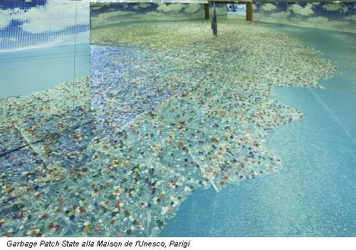 Garbage Patch State alla Maison de l'Unesco, Parigi