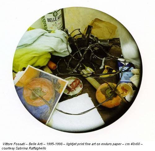 Vittore Fossati – Belle Arti – 1995-1998 – lightjet print fine art on enduro paper – cm 40x60 – courtesy Sabrina Raffaghello