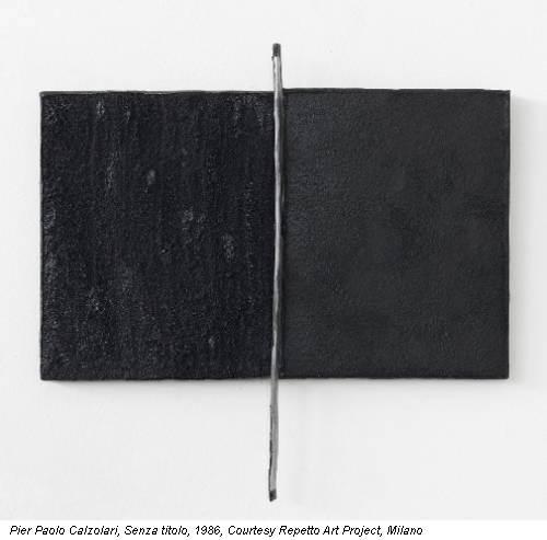 Pier Paolo Calzolari, Senza titolo, 1986, Courtesy Repetto Art Project, Milano
