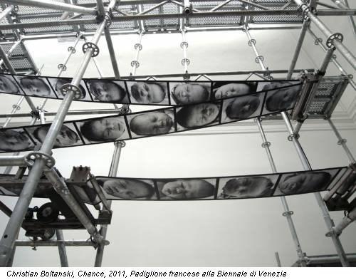 Christian Boltanski, Chance, 2011, Padiglione francese alla Biennale di Venezia