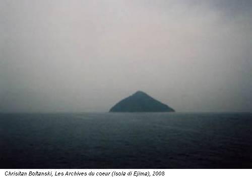 Chrisitan Boltanski, Les Archives du coeur (Isola di Ejima), 2008
