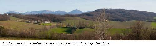 La Raia, veduta – courtesy Fondazione La Raia – photo Agostino Osio