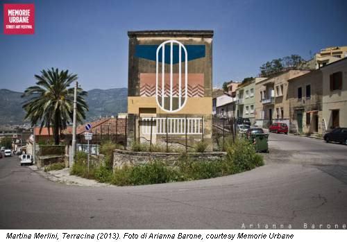 Martina Merlini, Terracina (2013). Foto di Arianna Barone, courtesy Memorie Urbane