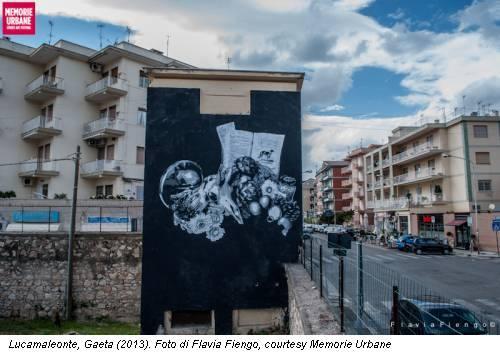 Lucamaleonte, Gaeta (2013). Foto di Flavia Fiengo, courtesy Memorie Urbane