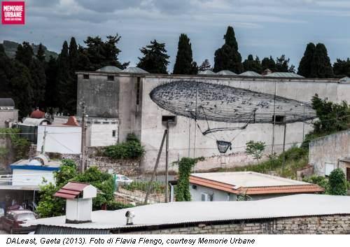 DALeast, Gaeta (2013). Foto di Flavia Fiengo, courtesy Memorie Urbane