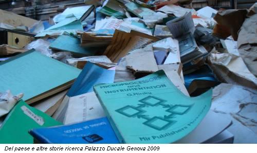 Del paese e altre storie ricerca Palazzo Ducale Genova 2009