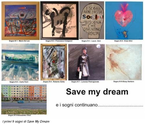 I primi 9 sogni di Save My Dream