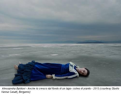 Alessandra Baldoni - Anche io cresco dal fondo di un lago- colmo di pianto - 2013 (courtesy Studio Vanna Casati, Bergamo)
