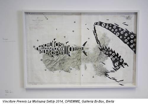 Vincitore Premio La Molisana SetUp 2014, OPIEMME, Galleria Bi-Box, Biella