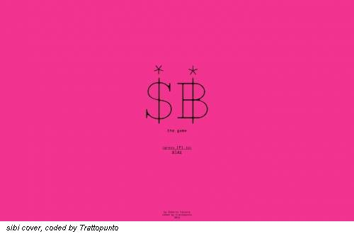 sibi cover, coded by Trattopunto