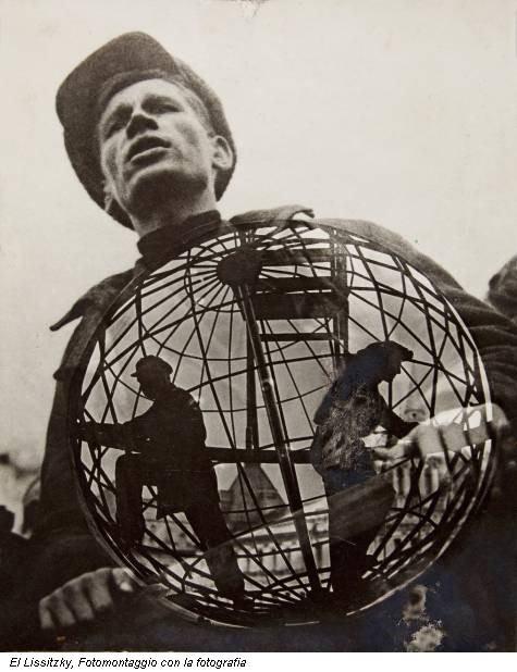 El Lissitzky, Fotomontaggio con la fotografia