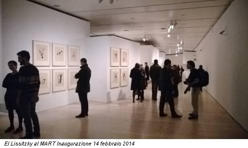 El Lissitzky al MART Inaugurazione 14 febbraio 2014