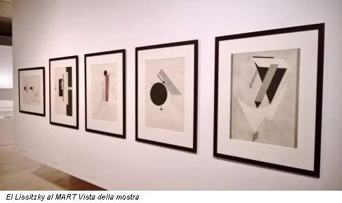 El Lissitzky al MART Vista della mostra
