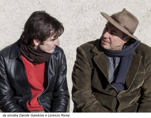 da sinistra Davide Gambino e Lorenzo Reina