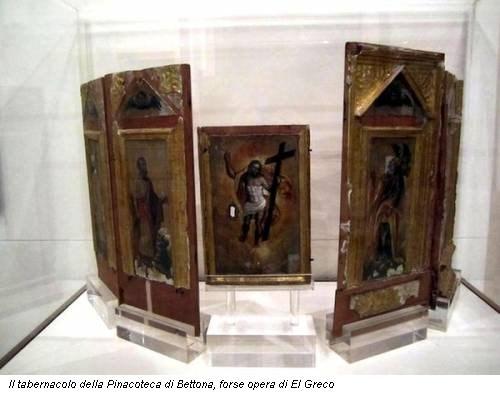 Il tabernacolo della Pinacoteca di Bettona, forse opera di El Greco