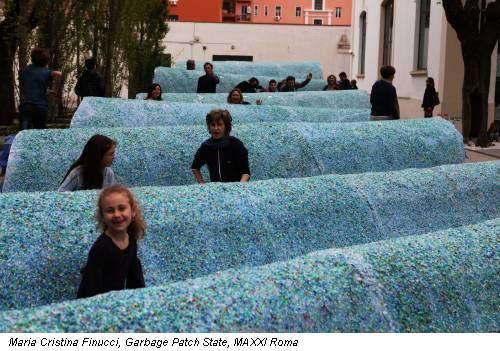 Maria Cristina Finucci, Garbage Patch State, MAXXI Roma