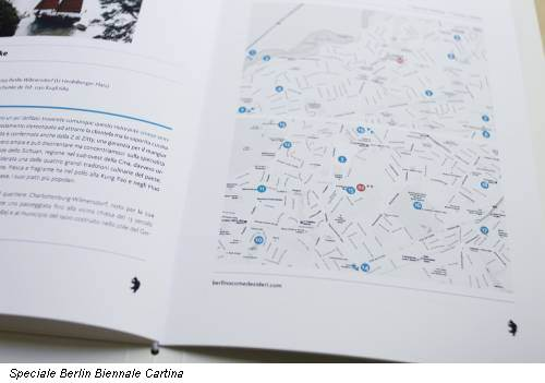Speciale Berlin Biennale Cartina