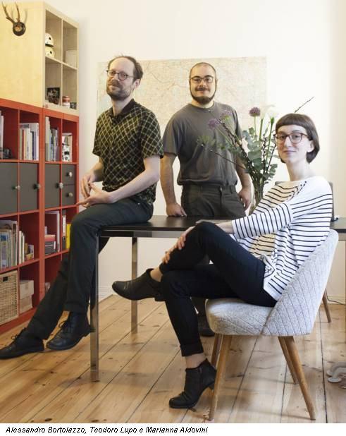 Alessandro Bortolazzo, Teodoro Lupo e Marianna Aldovini