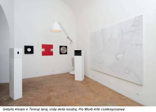 Getulio Alviani e Teresa Iaria, vista della mostra, Pio Monti Arte contemporanea