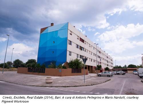 Ciredz, Enziteto, Real Estate (2014), Bari. A cura di Antonio Pellegrino e Mario Nardulli, courtesy Pigment Workroom
