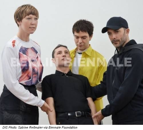 DIS Photo: Sabine Reitmaier via Biennale Foundation