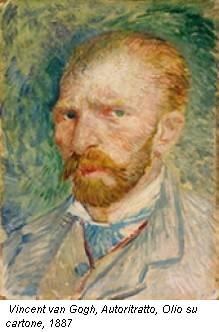 Vincent van Gogh, Autoritratto, Olio su cartone, 1887