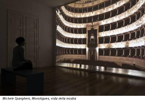 Michele Spanghero, Monologues, vista della mostra