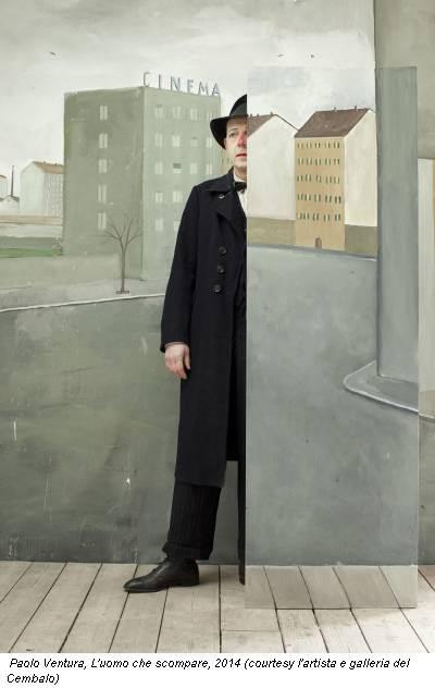 Paolo Ventura, L'uomo che scompare, 2014 (courtesy l'artista e galleria del Cembalo)