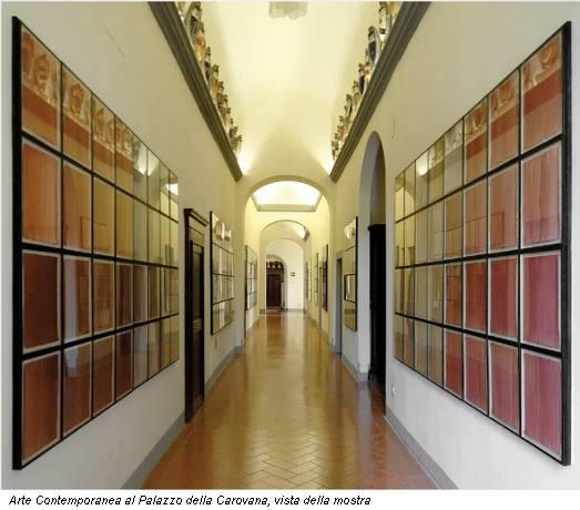 Arte Contemporanea al Palazzo della Carovana, vista della mostra