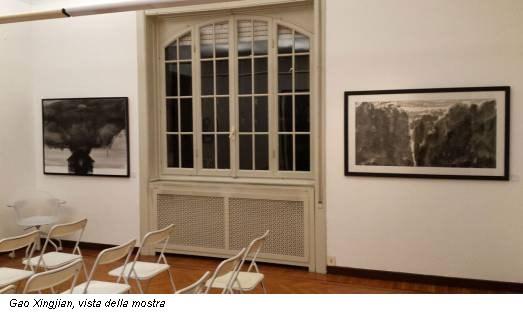 Gao Xingjian, vista della mostra