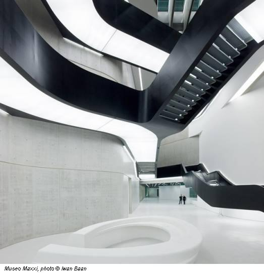 Museo Maxxi, photo © Iwan Baan