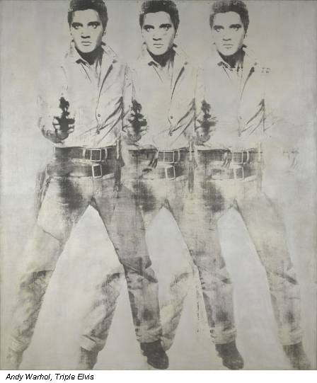 Andy Warhol, Triple Elvis