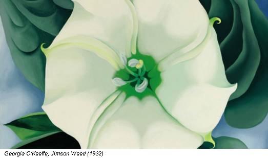 Georgia O'Keeffe, Jimson Weed (1932)