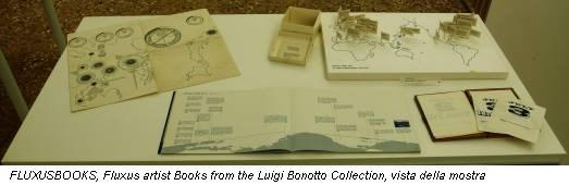 FLUXUSBOOKS, Fluxus artist Books from the Luigi Bonotto Collection, vista della mostra