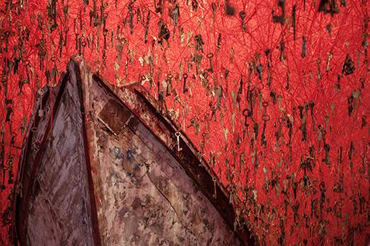 Giardini, Chiharu Shiota, foto altrospazio