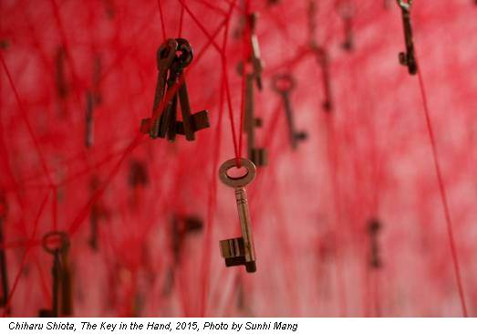 Chiharu Shiota, The Key in the Hand, 2015, Photo by Sunhi Mang