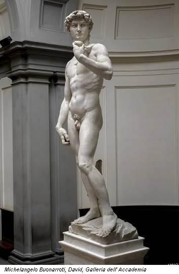 Michelangelo Buonarroti, David, Galleria dell' Accademia